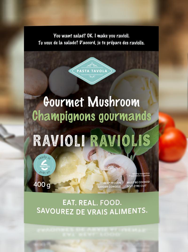 Gourmet Mushroom Ravioli